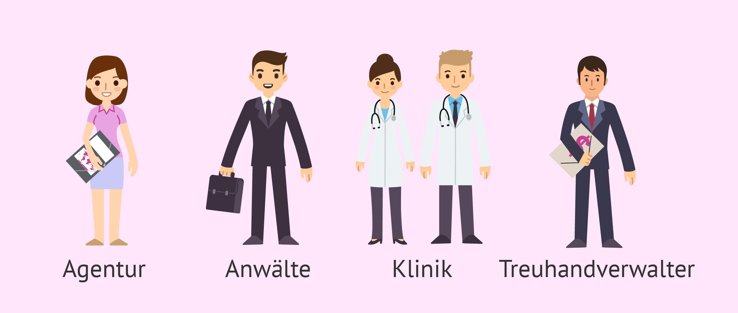 Experten in der Leihmutterschaft