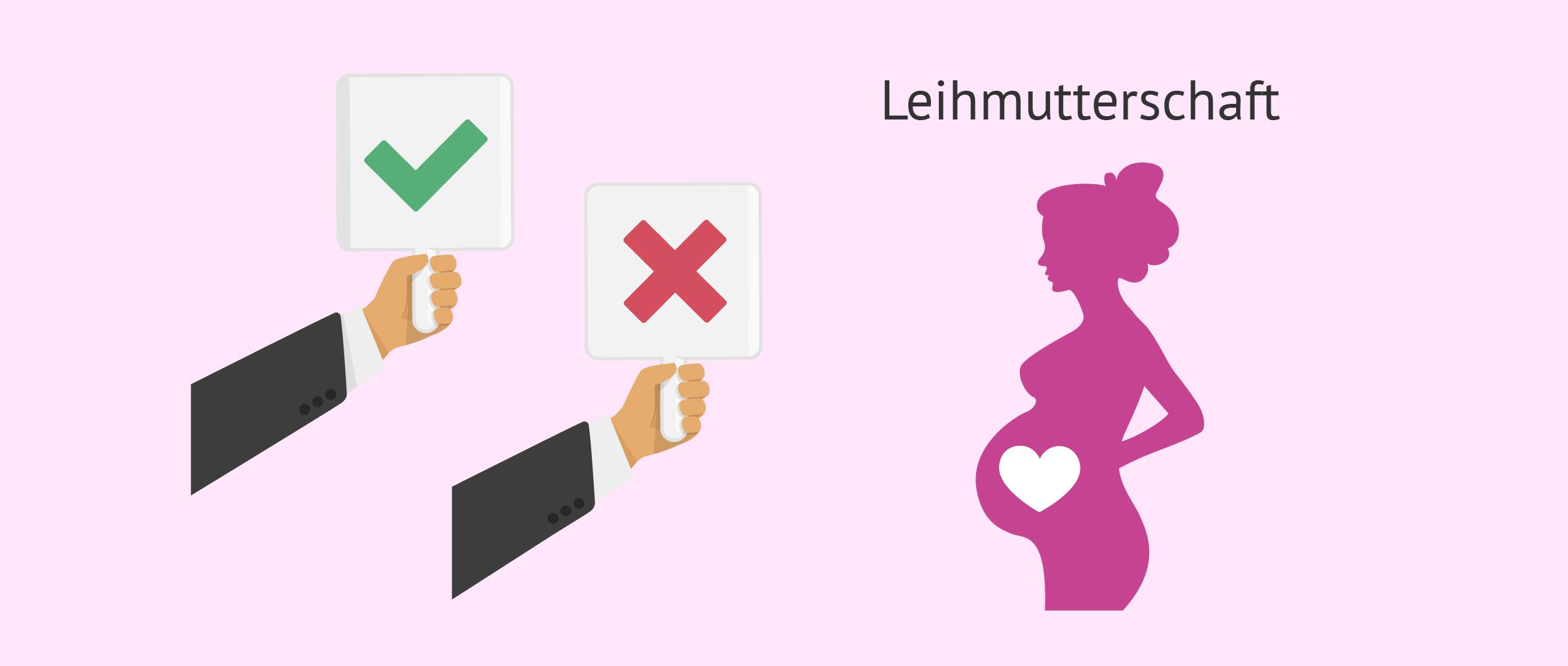 Für und gegen Leihmutterschaft