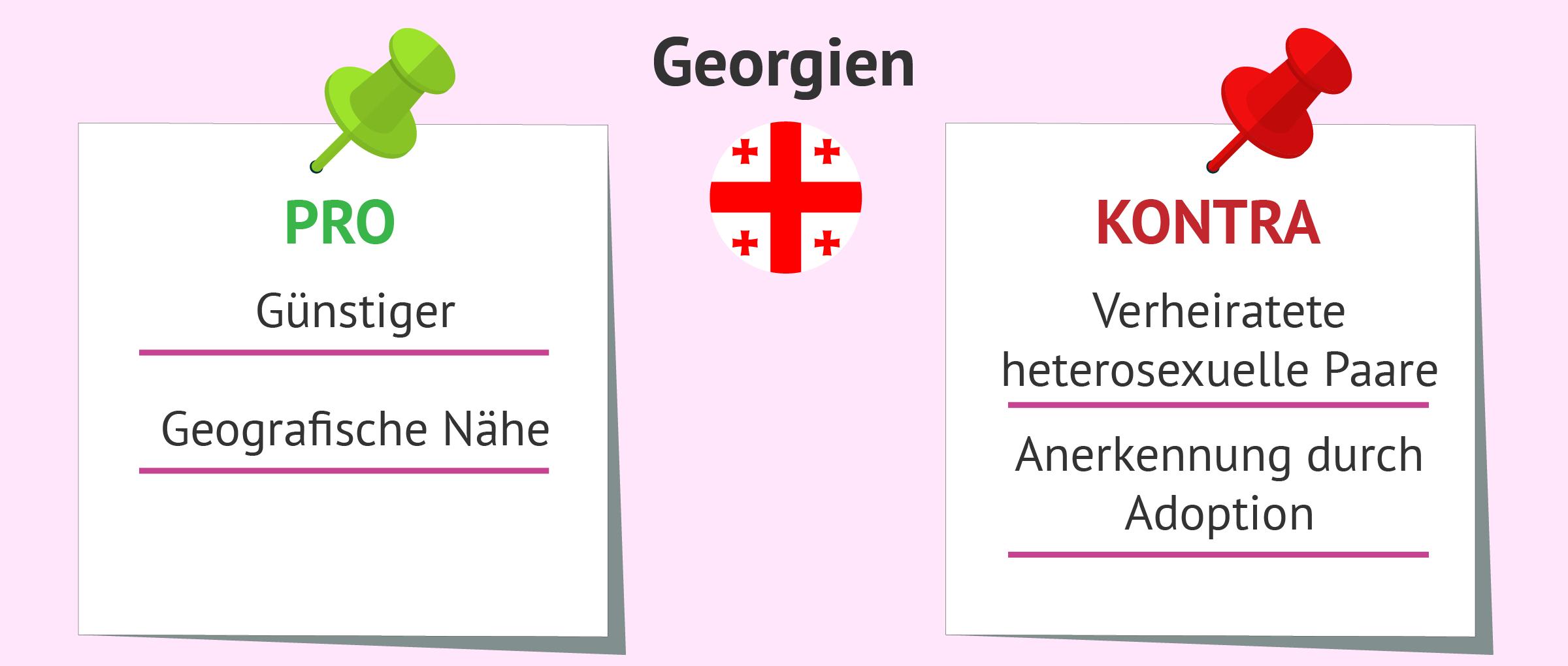 Vor-und Nachteile der Leihmutterschaft in Georgien