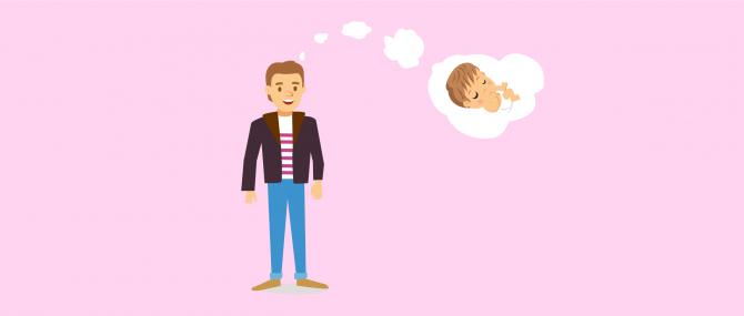 Wie kann ein alleinstehender Mann Vater werden?
