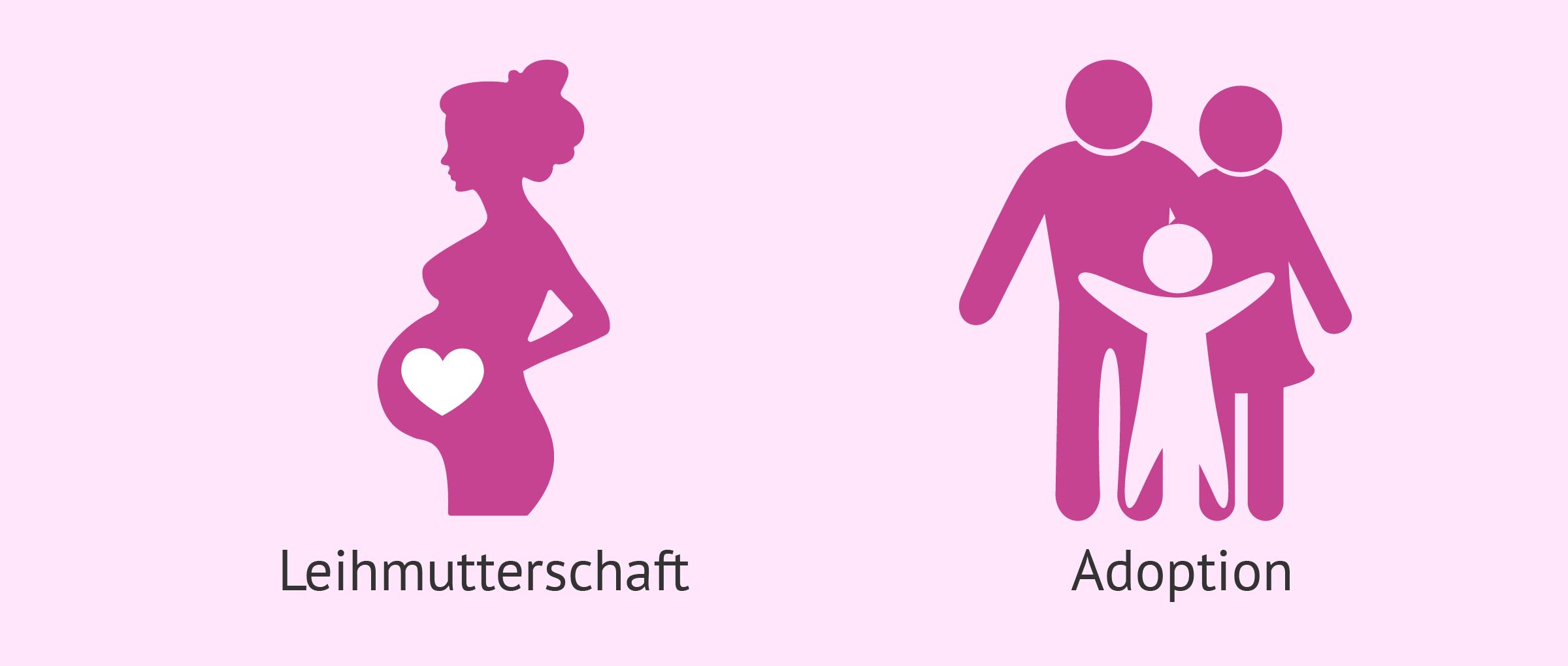 Leihmutterschaft oder Adoption: Was sind die Unterschiede?