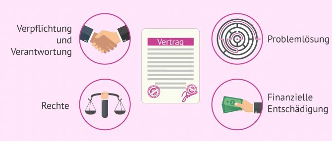 Imagen: festgelegte Bedingungen im Leihmutterschaftsvertrag