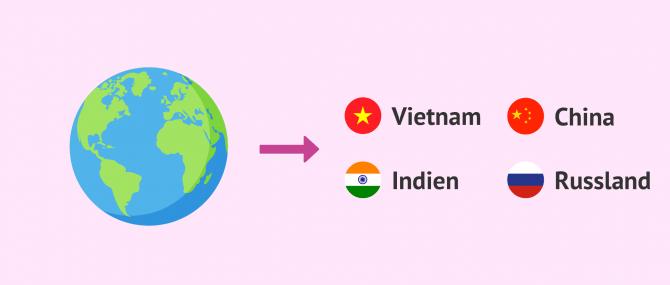 In welchen Ländern ist eine Adoption möglich?