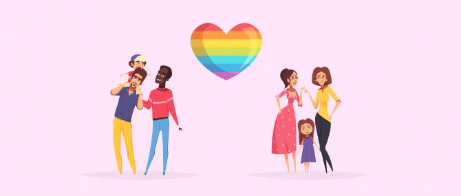 Gründung einer Regenbogenfamilie: Adoption für Homosexuelle