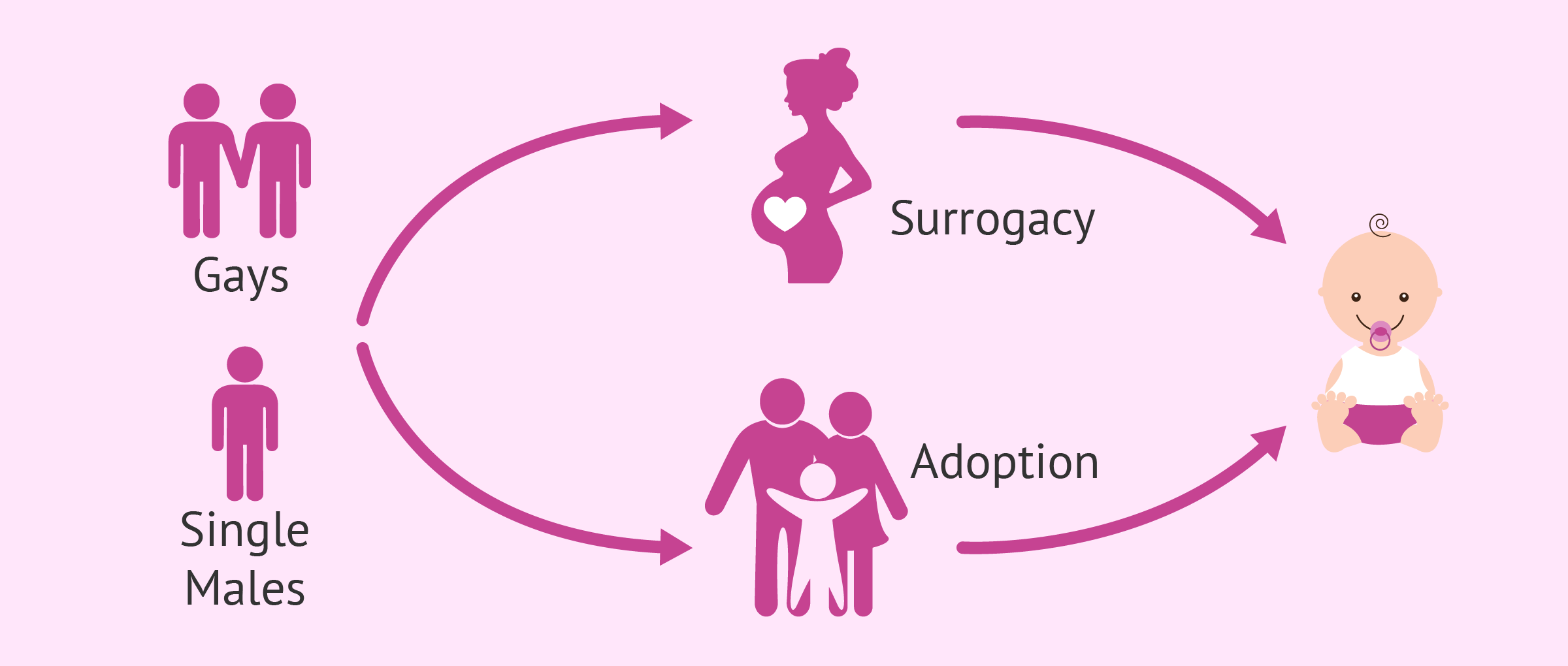 Paternity for gays and single men: adoption and surrogacy