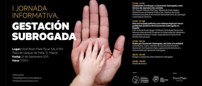 Jornada Informativa sobre Gestación Subrogada