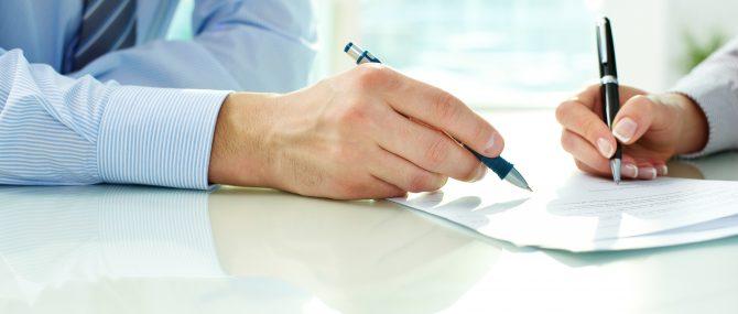 Firma del contrato de subrogación