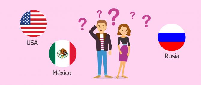 Estados Unidos, México y Rusia permiten legalmente la gestación subrogada