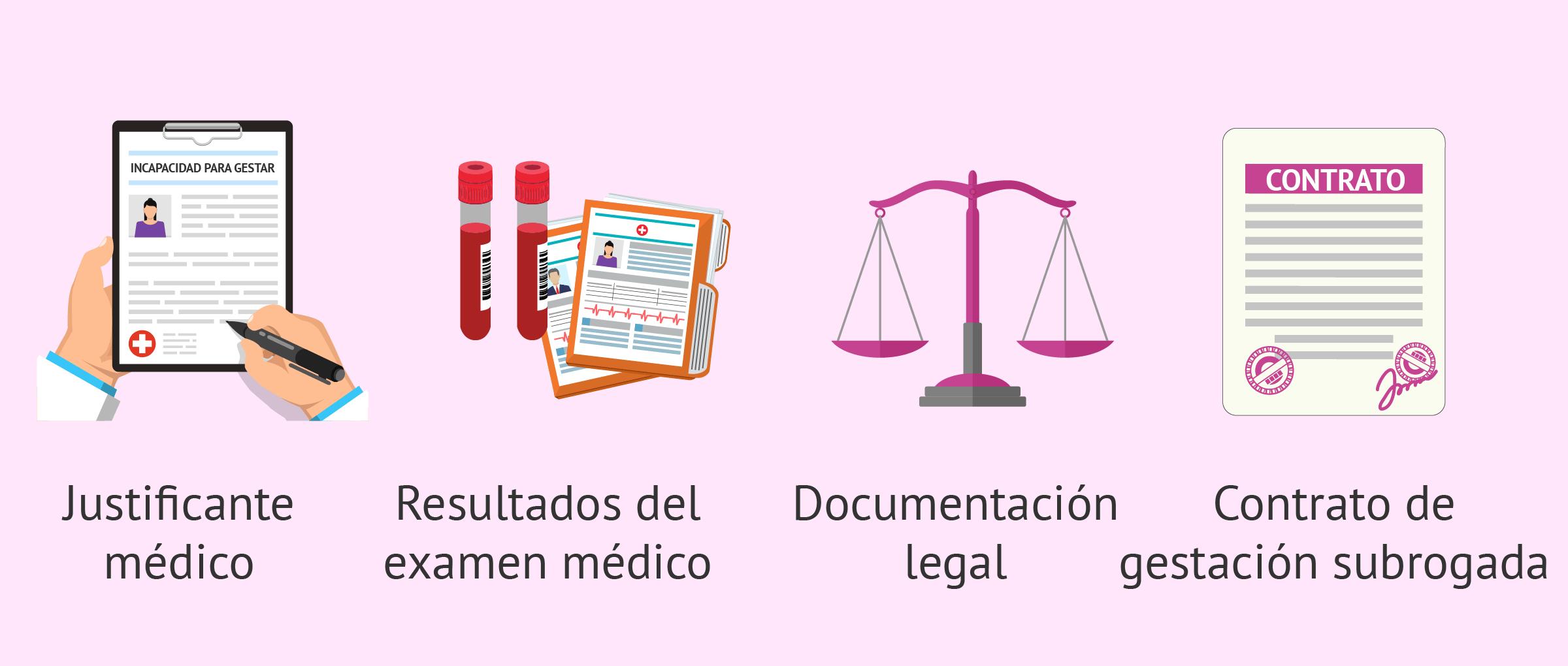 Documentos necesarios antes de empezar la gestación subrogada