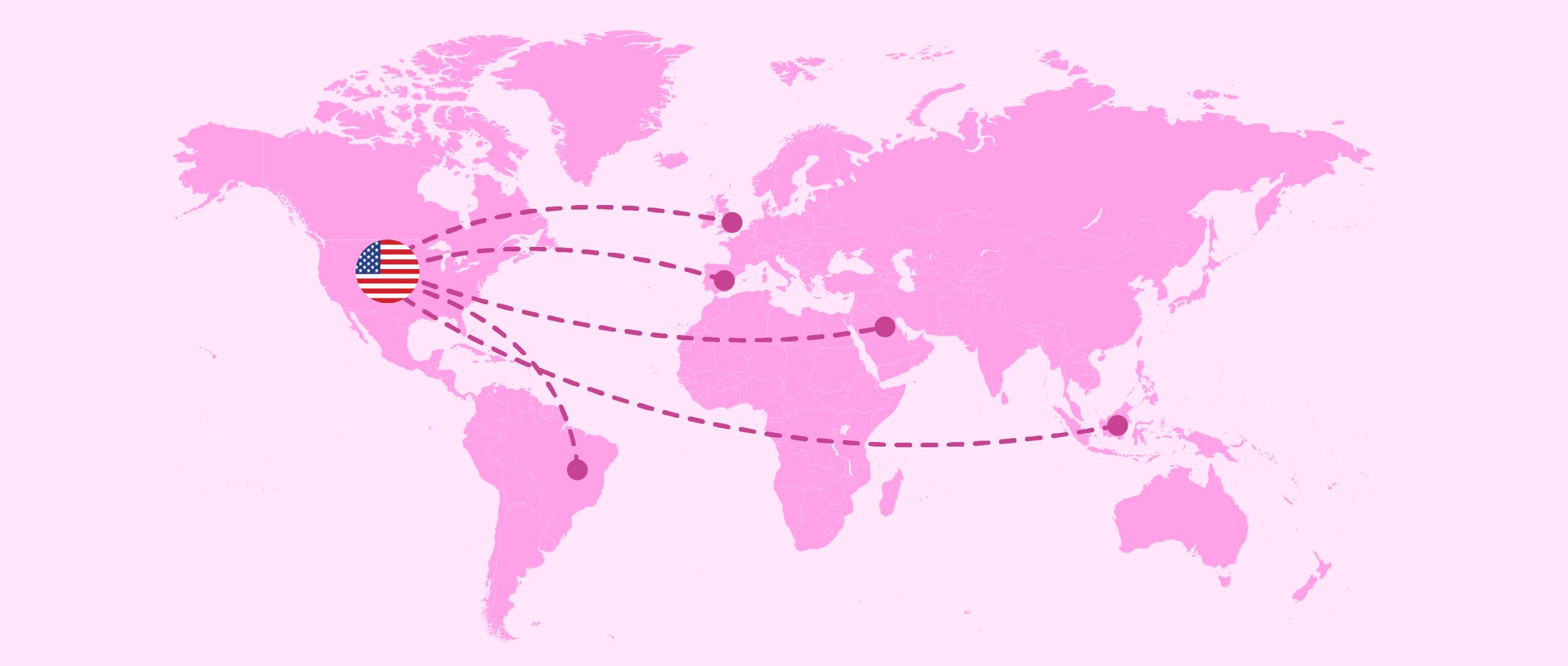 Viajar a Estados Unidos por gestación subrogada
