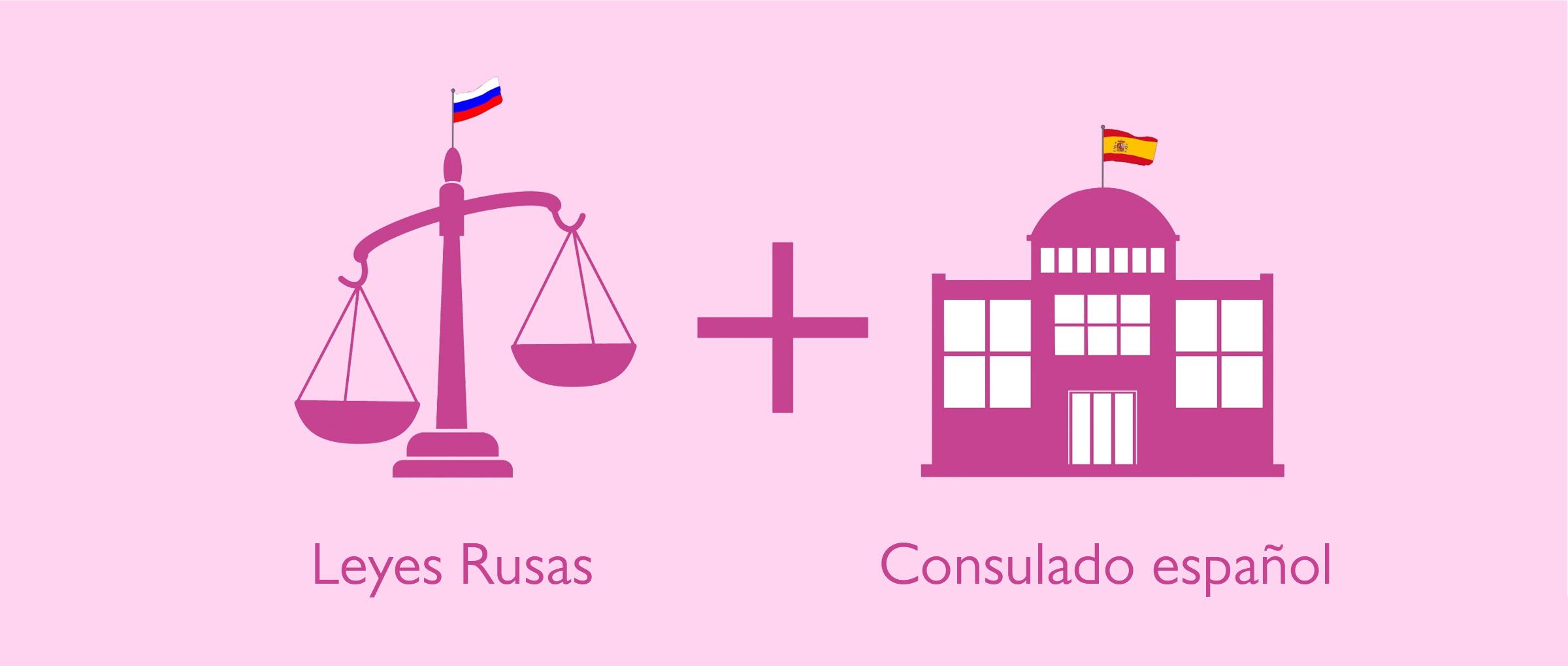 Cumplir las condiciones de Rusia y España para el registro del bebé