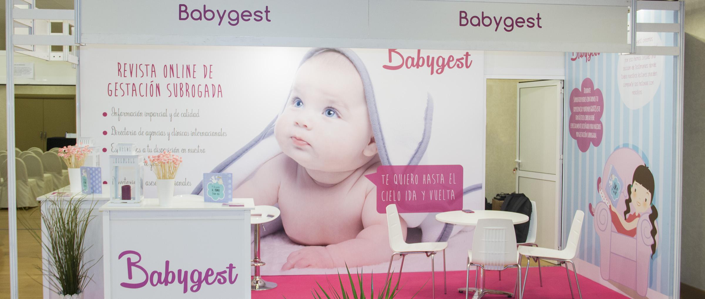 Stand de Babygest en Surrofair