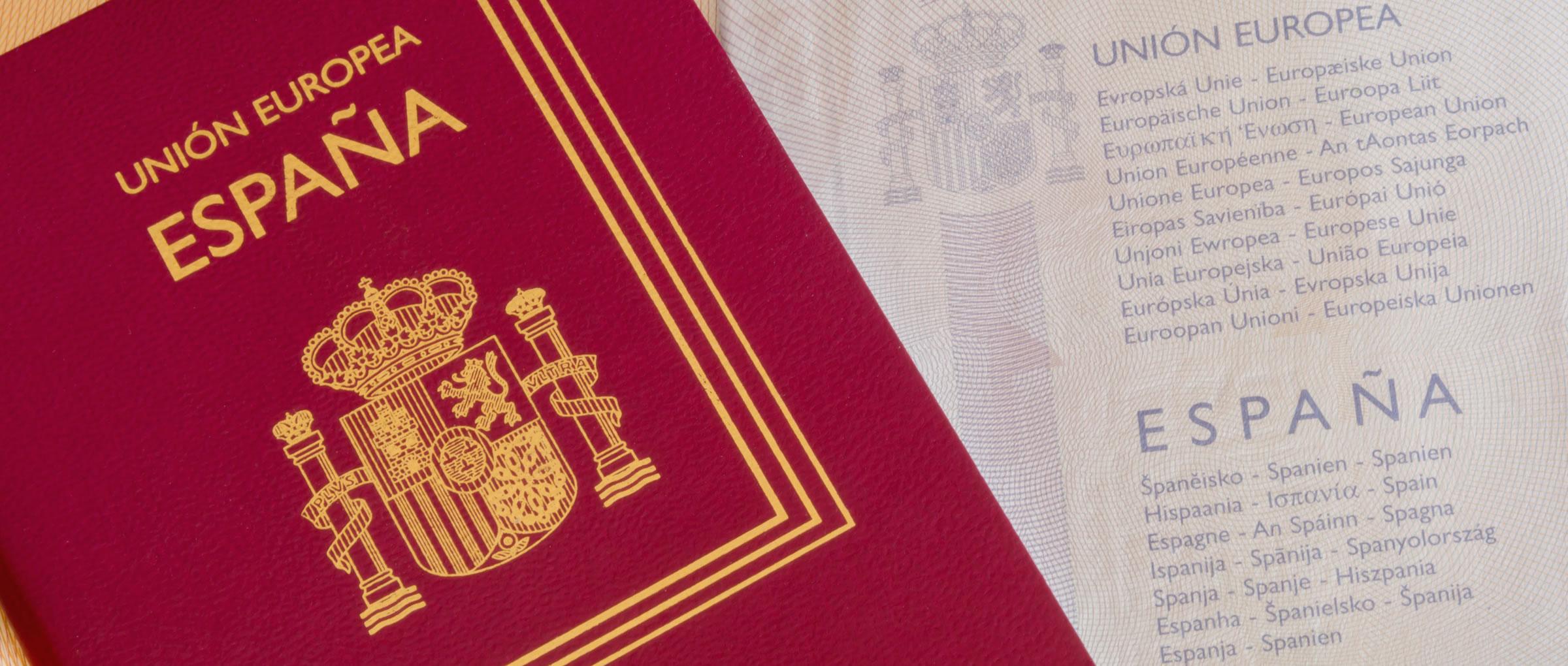 Pasaporte español vigente