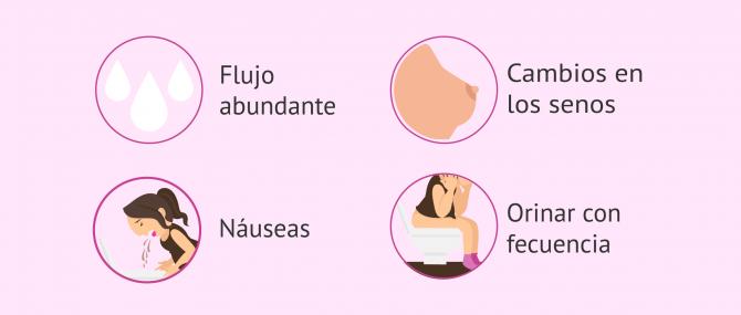 Imagen: Síntomas postransferencia embrionaria