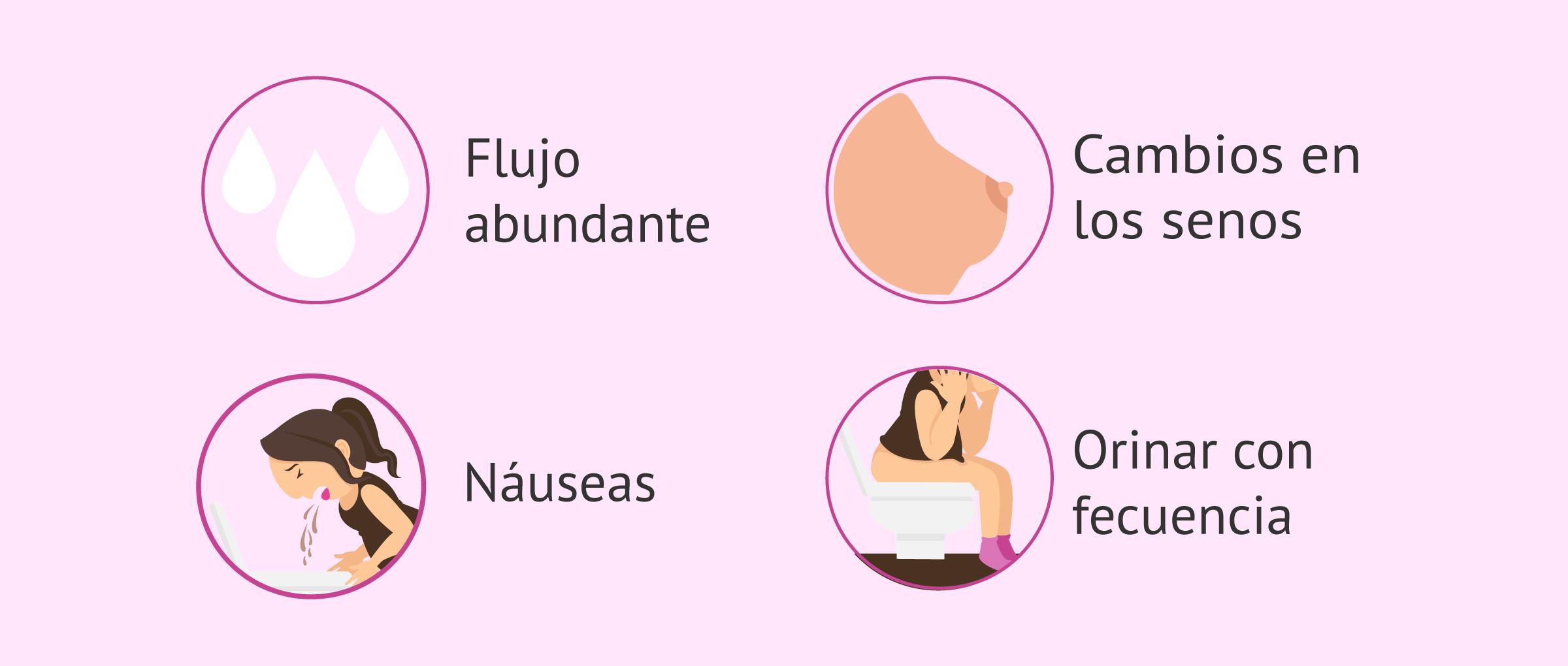 Síntomas postransferencia embrionaria