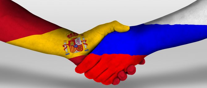 Cumplir la ley rusa y española