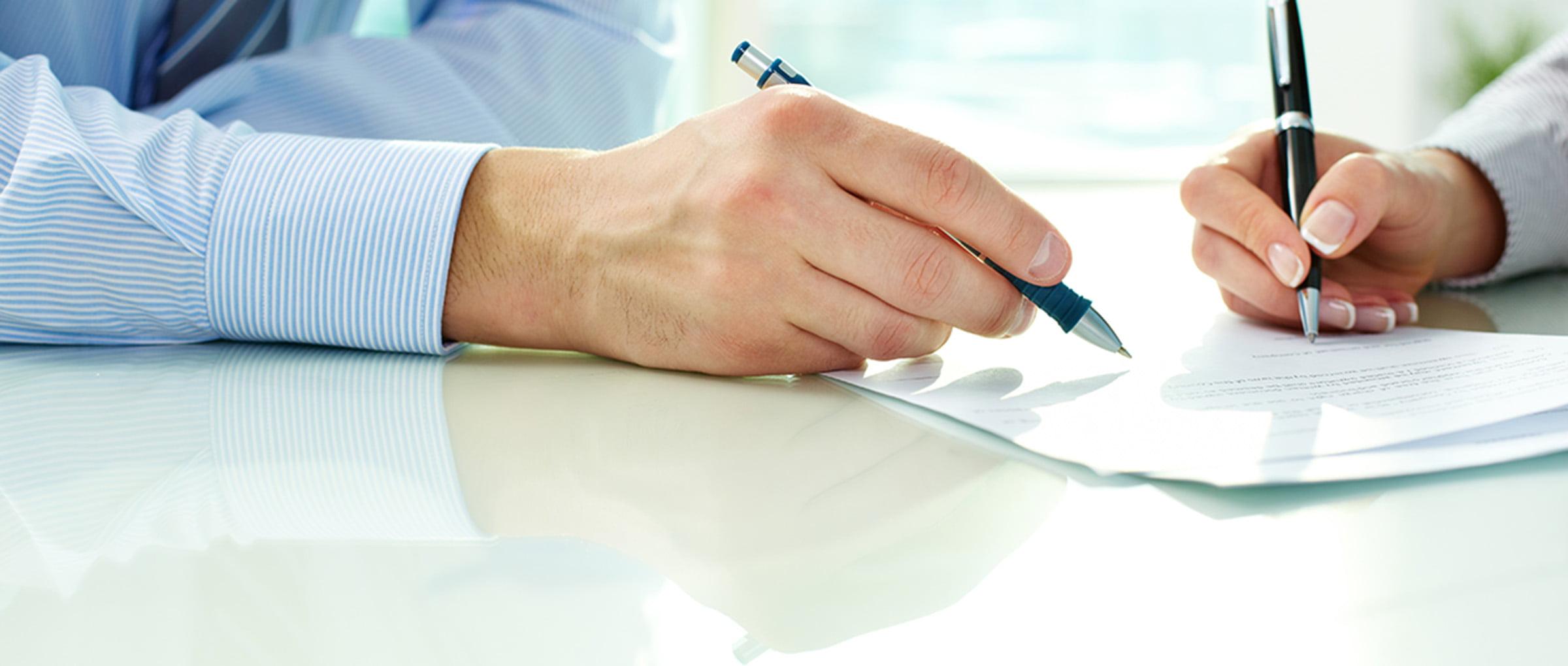 Exemple de contrat avec une agence de GPA en Californie