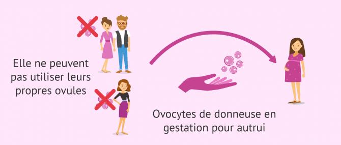 GPA et don d'ovocytes pour des raisons médicales