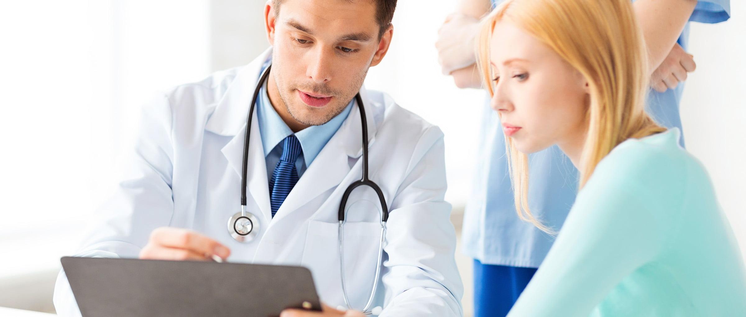 Services médicaux et psychologiques pour une GPA