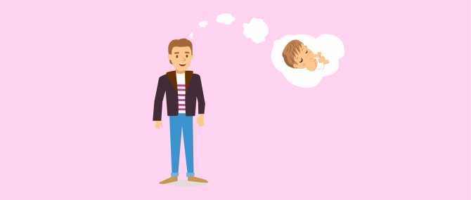 Imagen: Avoir un enfant en étant pe`re célibataire