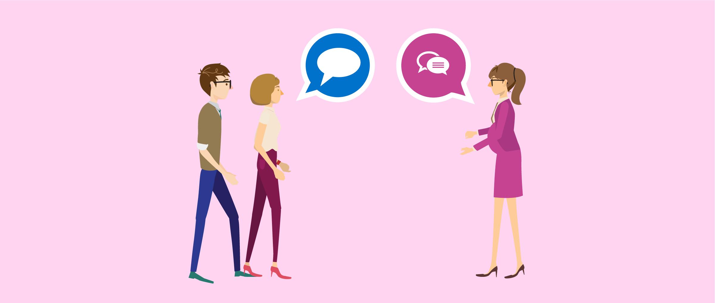 Relation d'amitié entre la mère porteuse et les parents d'intention