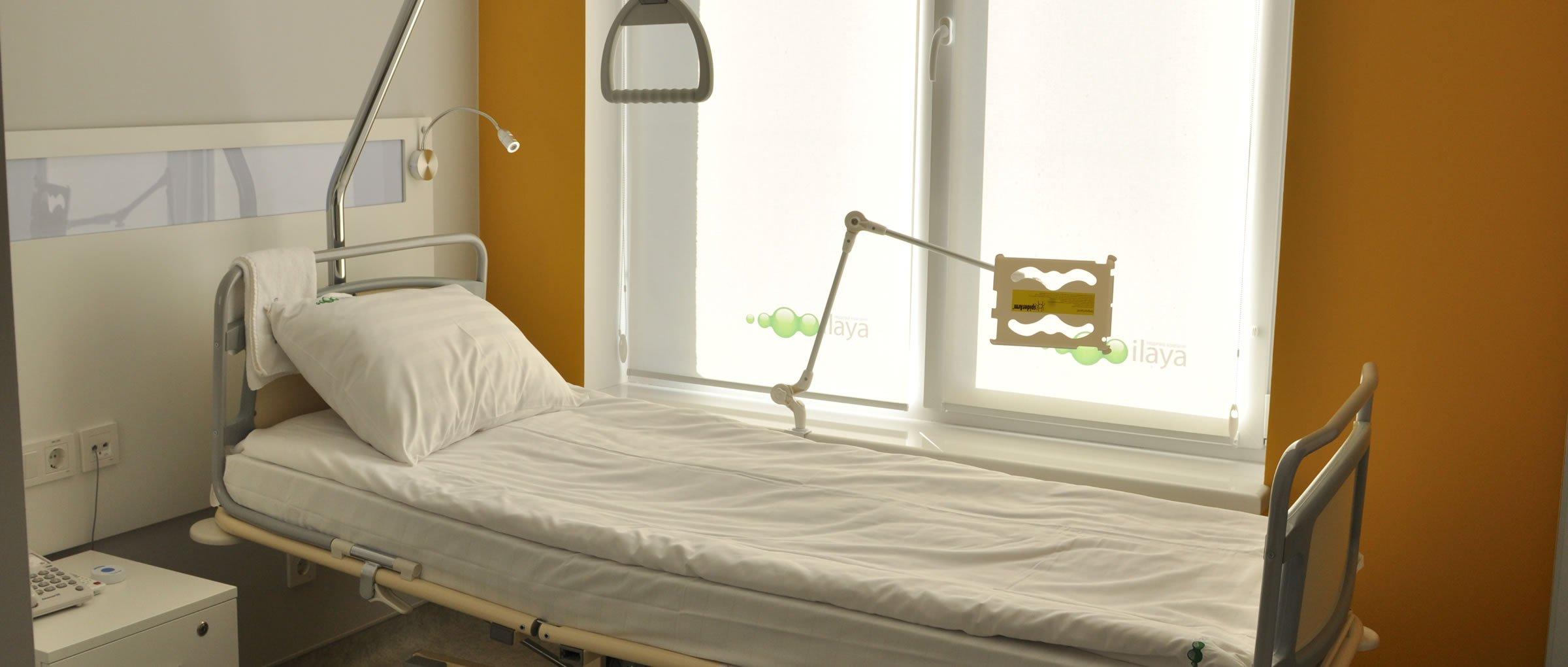 Salle de repos de la clinique ilaya