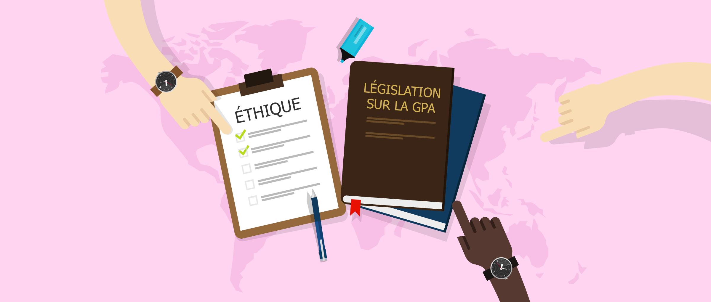Pratique éthique de la GPA: questions morales et droits de l'homme