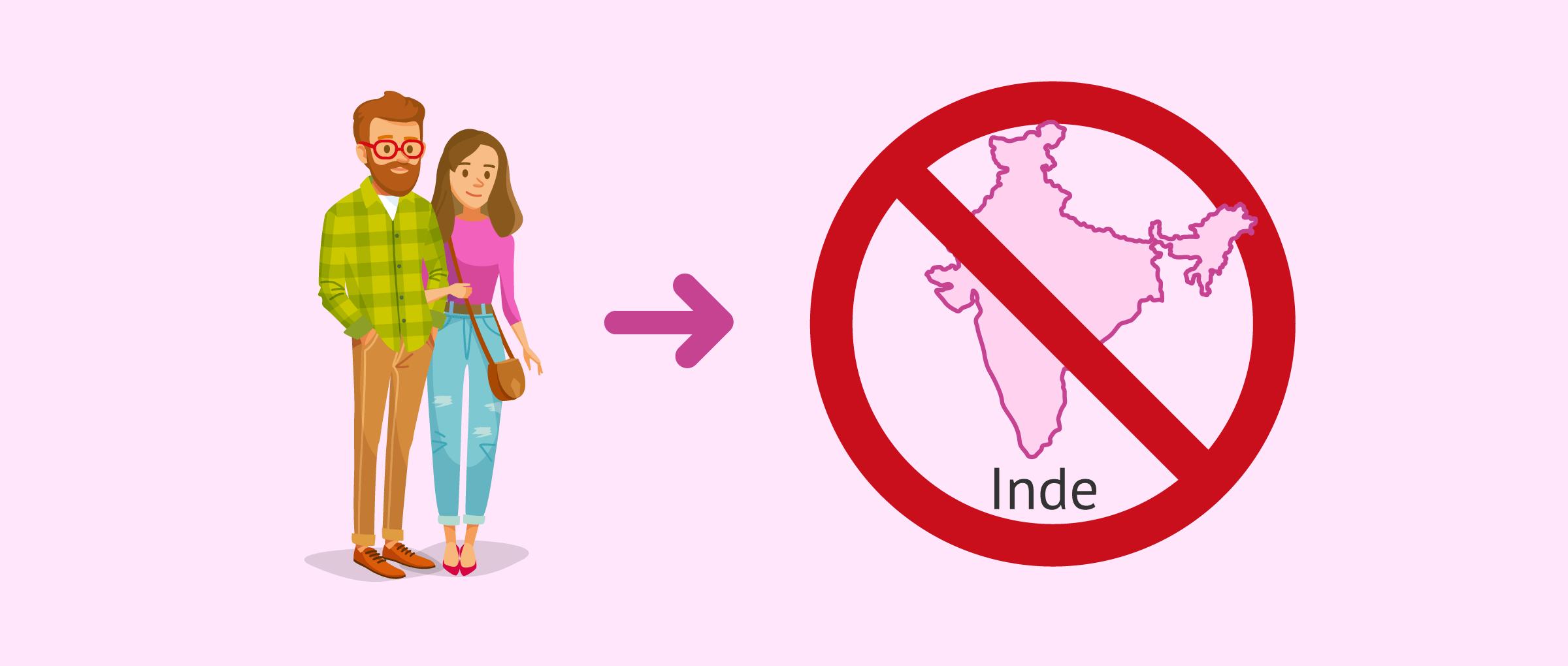 GPA interdite pour les étrangers en Inde